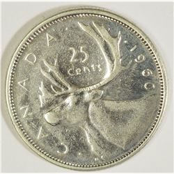 #35) CANADIAN SILVER COIN (QUARTER APP 5.8G)