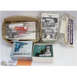 40 SIZE HB ENGINE AIRPLANE AND RETRACK KITS FOR
