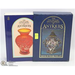 THE COLLECTORS ENCYCLOPEDIA OF ANTIQUES BOOK