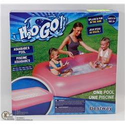 NEW H2O GO KIDS INFLATABLE POOL