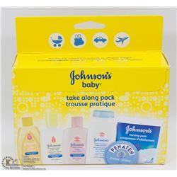 JOHNSONS BABY TRAVEL PACK
