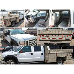 FEATURED LOT - 2008 FORD F350 FLAT DECK SUPERDUTY