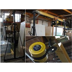 FEATURED LOT - 1 TON MOBILE OVERHEAD CHAIN HOIST