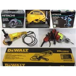 FEATURED LOT - NEW AND USED POWER TOOLS