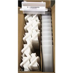 CASE OF 10 NEW SHARPSAFETY SHARPS CONTAINERS
