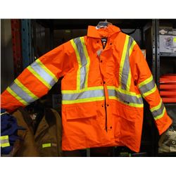 CONDOR HI VIS  WORK JACKET SIZE X LARGE