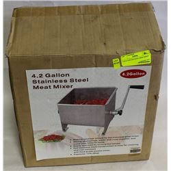 4.2G STAINLESS STEEL MEAT MIXER