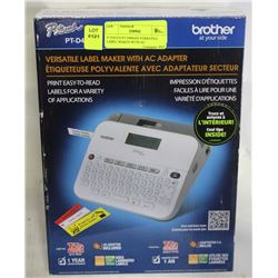 P-TOUCH PT-D400AD VERSATILE LABEL MAKER WITH AC