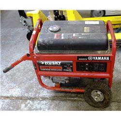 HUSKY 5700 WATT PORTABLE GENERATOR GAS POWERED