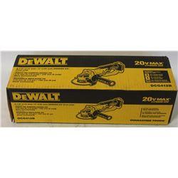 """DEWALT 20V 4-1/2""""-5"""" GRINDER TOOL."""
