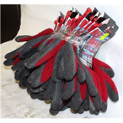 10 NEW PAIR OF WATSON RED HOTS GLOVES
