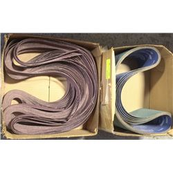 2 BOXES OF ABRASIVE SANDING STRIPS
