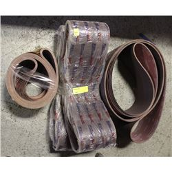 LOT OF ABRASIVE WIDE STRIPS