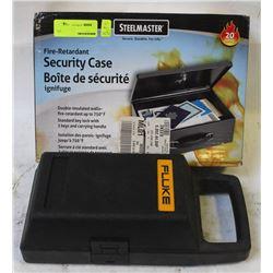 STEELMASTER FR SECURITY CASE WITH FLUKE CASE