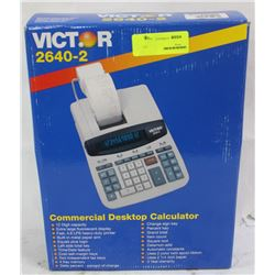 VICTOR COMMERCIAL CALCULATOR WITH PRINTING ROLL