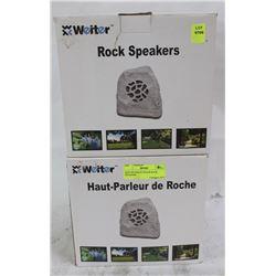 NEW WEITER OUTDOOR ROCK SPEAKERS