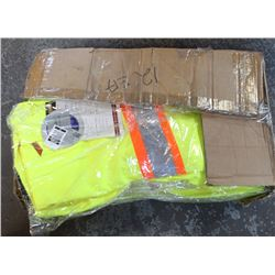FULL CASE OF PIONEER HI-VIS BIBS