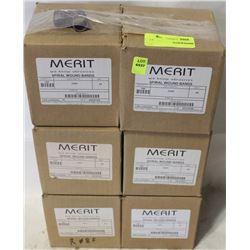 """6 CASES OF MERIT ABRASIVE SPIRAL BANDS 3/4"""" X 1"""""""