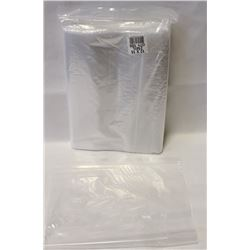 BAG OF 100 12X15 RESEALABLE POLY BAGS