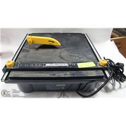 MASTERCRAFT WET TILE SAW.