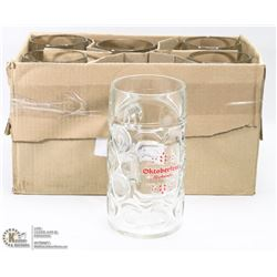 CASE OF 6 RICKARDS OKTOBERFEST 1 LITRE BEER STEINS
