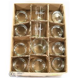 CASE OF 24 CROWN ROYAL HIGHBALL GLASSES