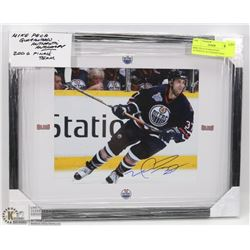 MIKE PECA GUARANTEED AUTHENTIC AUTOGRAPH FRAMED