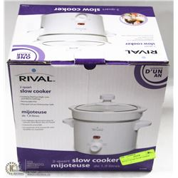 RIVAL 2 QUART SLOW COOKER