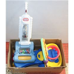 FISHER PRICE YELLOW & BLUE HAPPY FACE RIDE ON