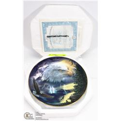 """BRADFORD EXCHANGE """"STORM KING"""" COLLECTOR PLATE"""