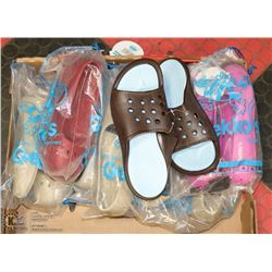 FLAT OF GEKKO'S  SUMMER SHOES AND SANDALS
