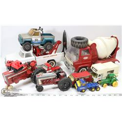 LOT OF TONKA TOYS & MORE