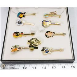 COLLECTION OF HARD ROCK CAFE PINS FROM