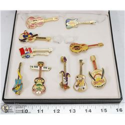 COLLECTION OF HARD ROCK CAFE PINS INCL RARE