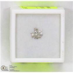 20) GENUINE ASSORTED LOOSE DIAMONDS