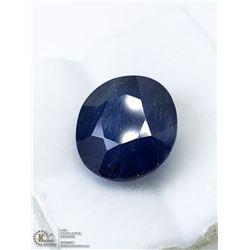 28) GENUINE ENHANCED BLUE SAPPHIRE