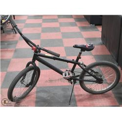 POLICE SEIZURE BLACK BMX BIKE
