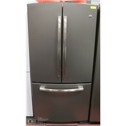 GE SLATE GREY 2 DOOR REFRIGERATOR BOTTOM DOOR