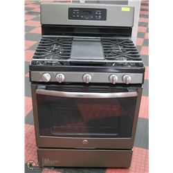 GE 4 BURNER GAS STOVE WITH OVEN