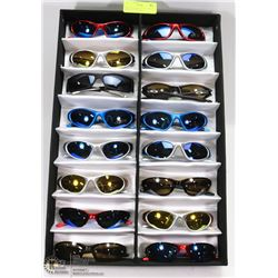 DISPLAY OF OAKLEY AND OTHER REPLICA SUNGLASSES