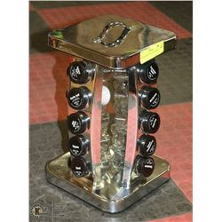 20 PLACE ROTATES  SPICE RACK