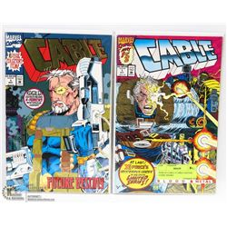 PAIR OF CABLE #1 FIRST EDITION COMIC BOOKS