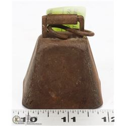 ANTIQUE OLD METAL COW BELL OVER 150 YEARS
