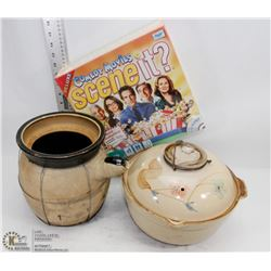 BOX WITH JAPANESE COOKING POT AND SEALED SCENE IT