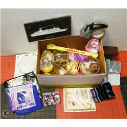 #19) BOX OF ASSORTED STORE ITEMS