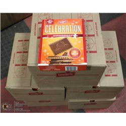 5 CASES LECLERC CHOCOLATE GINGERBREAD COOKIES