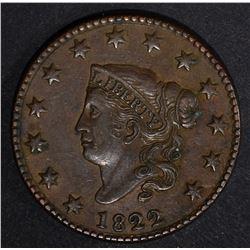 1822 LARGE CENT, AU