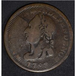 1788 WASHINGTON COPPER UNITY STATES, GOOD