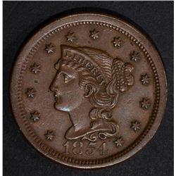 1854 LARGE CENT, AU