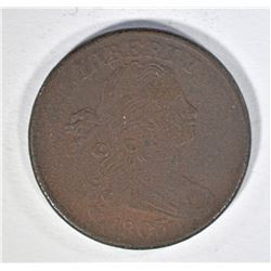 1803 LARGE CENT, VF corroded